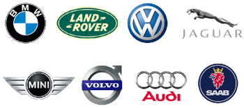 BMW, Land Rover, Volkswagen, VW, Mini Cooper, Volvo, Audi, Saab